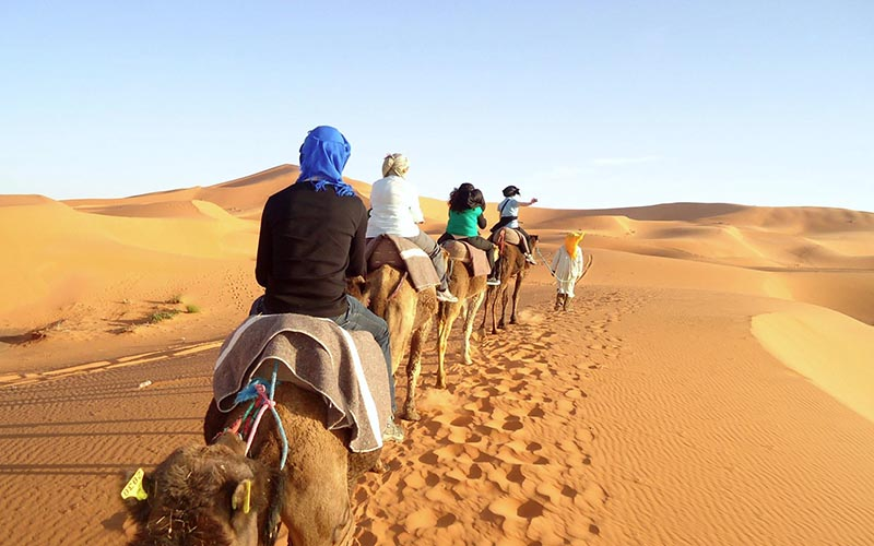 Marrakech – High Dunes Of Merzouga – Marrakech